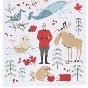 Now Designs True North Tea Towel NWT